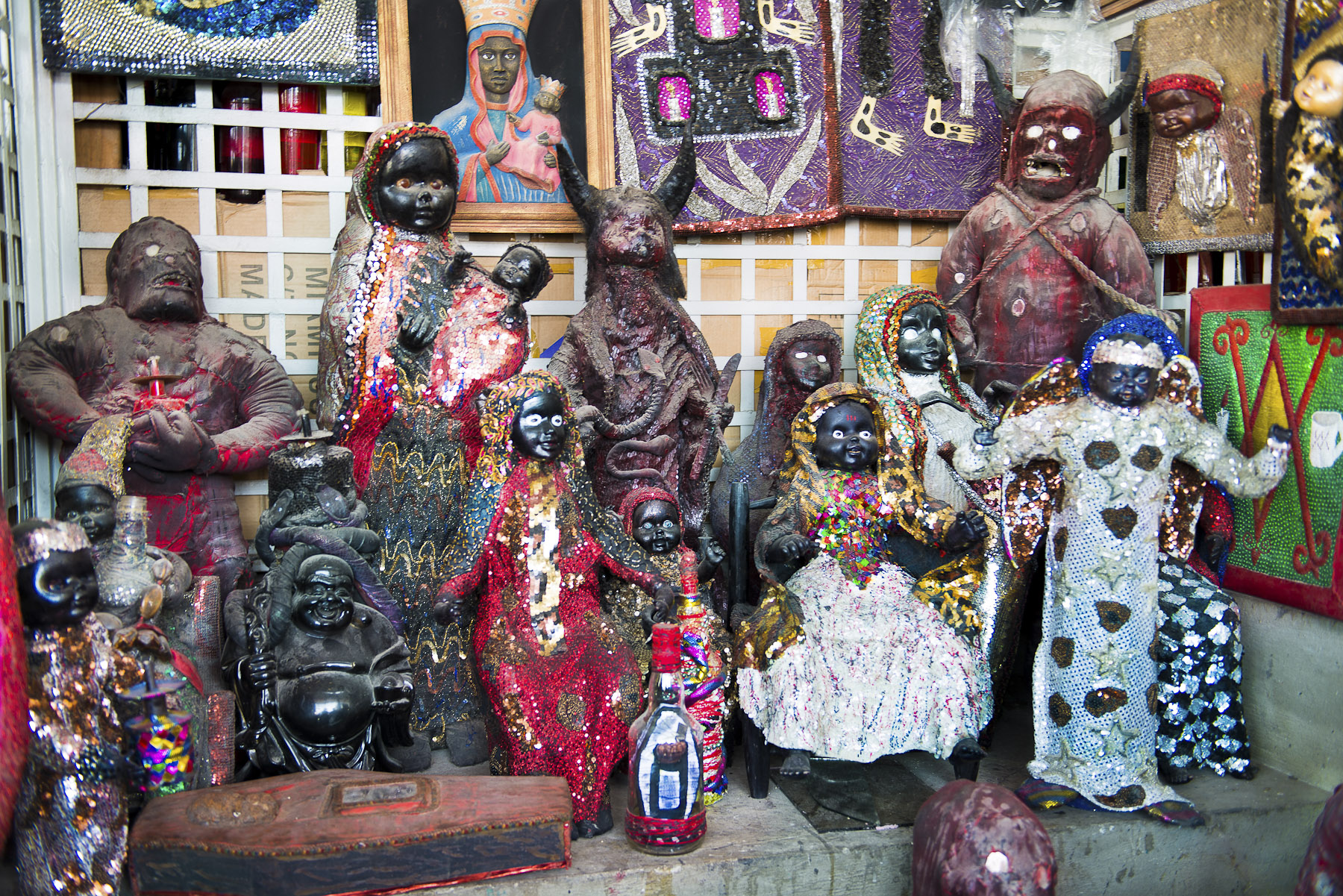 Vodou Family. 2012, Archival pigment on cotton rag paper, 20 x 30 inches