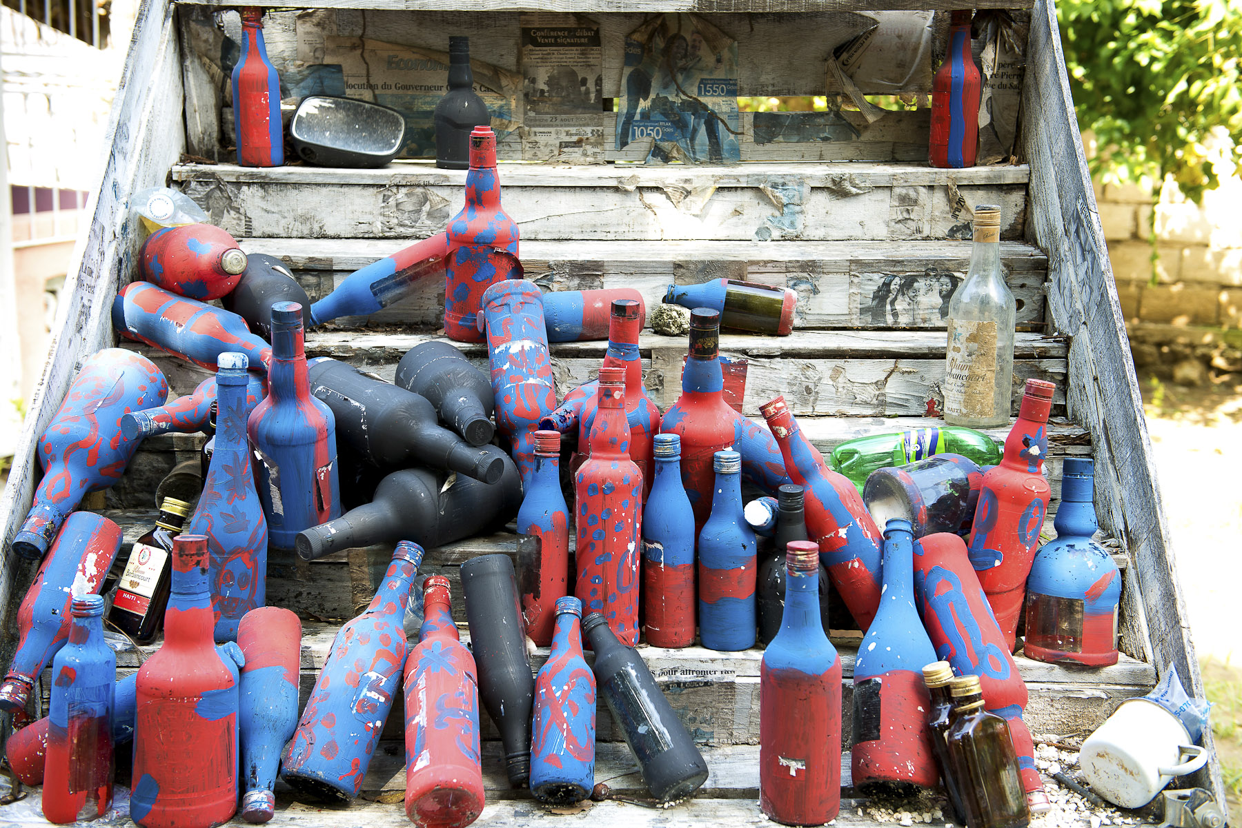 Vodou Bottles. 2012, Archival pigment on cotton rag paper, 20 x 30 inches
