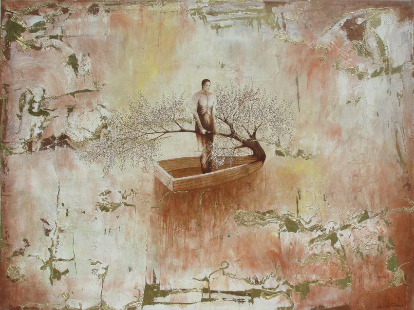 The Hope. 2008, oil on canvas, 44.5 x 79 in, Private Collection, Miami Fl. Humberto Castro