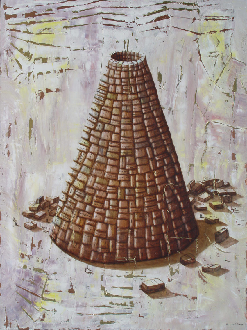 Atenas Dream. 2008, oil on canvas, 58 x 79 in. Humberto Castro
